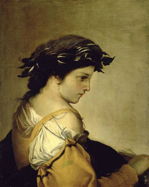Poem Painting - The Poem by Salvator Rosa