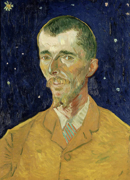 Serious Painting - The Poet, Eugene Boch by Vincent van Gogh