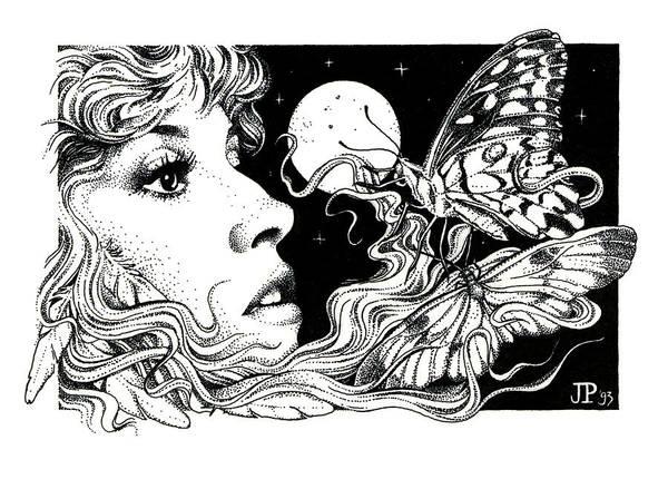 The Poet In My Heart Art Print