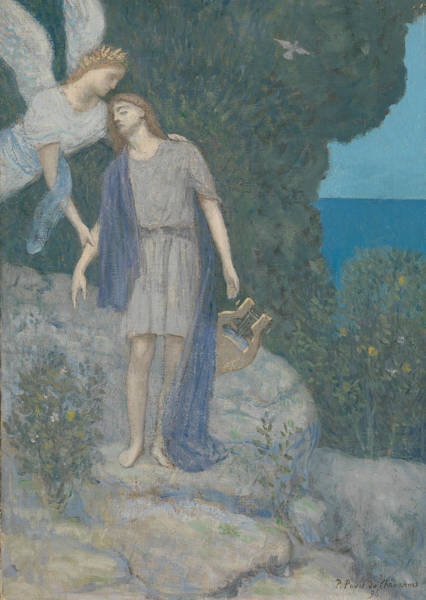 Painting - The Poet by Pierre Puvis de Chavannes