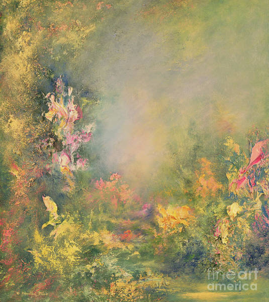 Foggy Painting - The Poetry Of Nature by Hannibal Mane