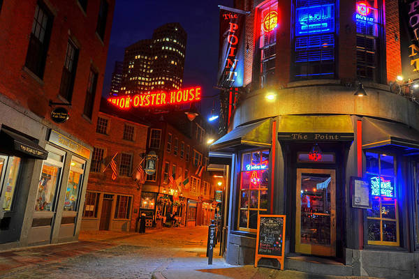 Photograph - The Point Marshall Street Boston Ma by Toby McGuire