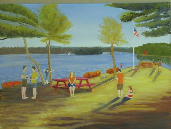 Painting - The Point by Scott W White