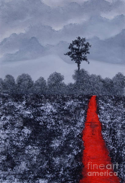 Desolation Painting - The Poison Stream by Stanza Widen