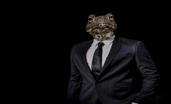 Suit Photograph - The Politician by Paul Neville