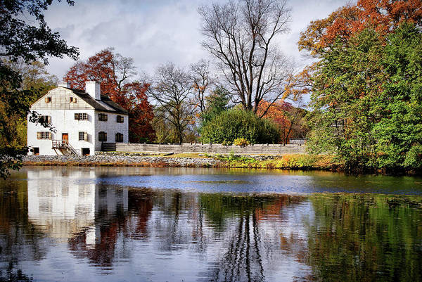 Photograph - The Pond And The Manor House by Cate Franklyn