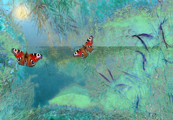 Painting - The Pond by Valerie Anne Kelly