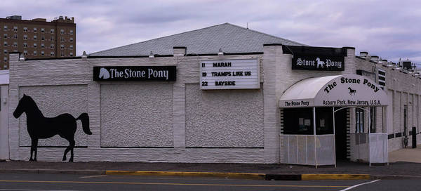 Photograph - The Pony Side Asbury Park New Jersey by Terry DeLuco