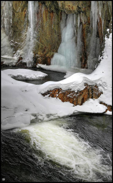 Photograph - The Pool At Smalls Falls by John Meader