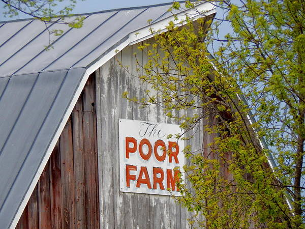 Photograph - The Poor Farm by Wild Thing