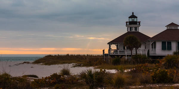 Photograph - The Port Boca Grande Lighthouse by Ed Gleichman