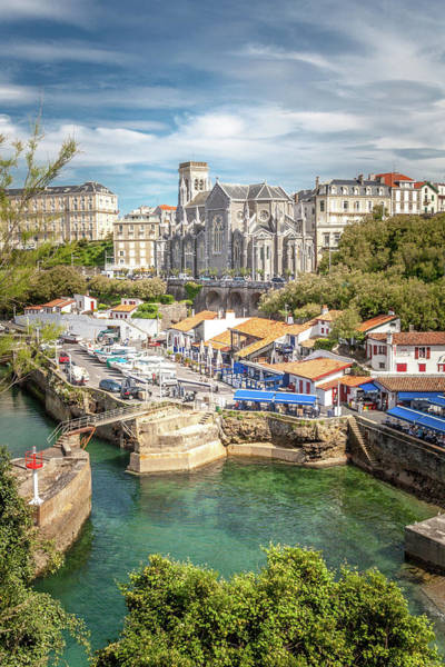 Wall Art - Photograph - The Port In Biarritz by W Chris Fooshee