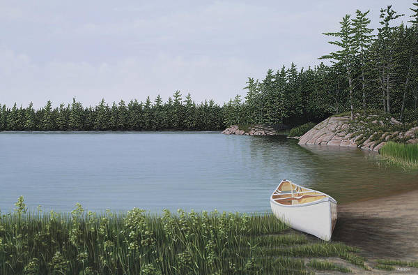 Painting - The Portage by Kenneth M Kirsch