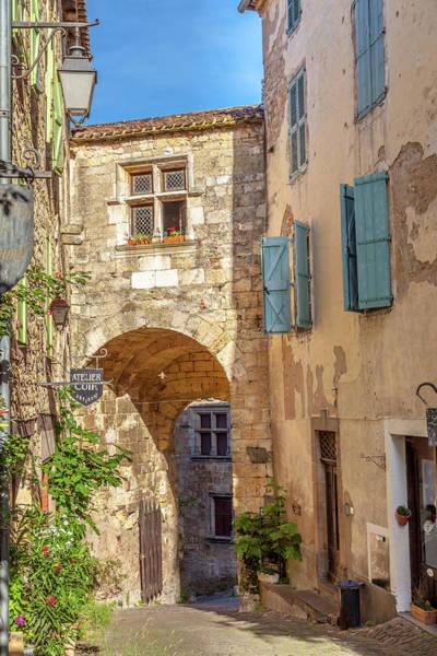 Wall Art - Photograph - The Porte De Rous In Cordes by W Chris Fooshee