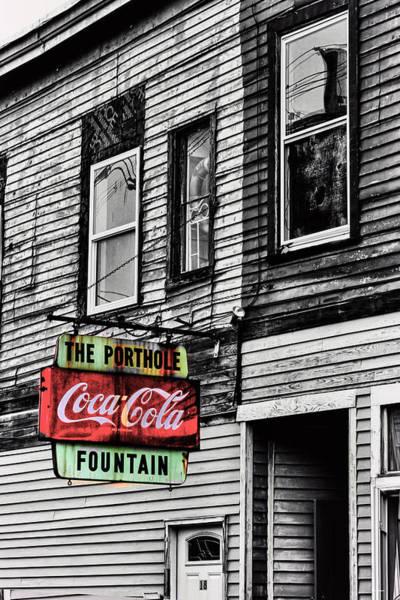 Roms Photograph - The Porthole Portland Maine by Tom Prendergast