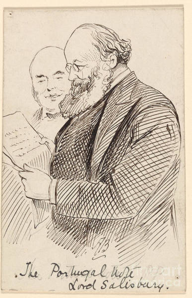 Bryan Painting - The Portugal Vote And Lord Salisbury by Celestial Images