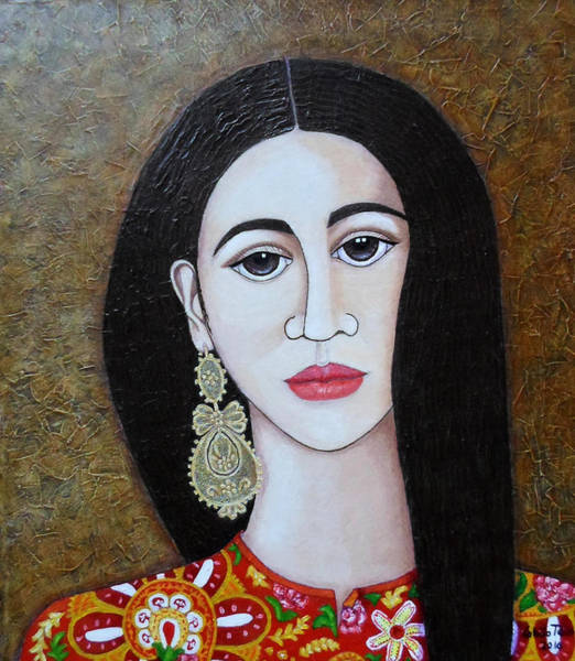 The Portuguese Earring 2 Art Print