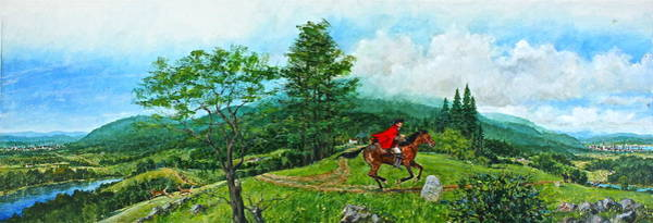 Painting - The Post Road by Cliff Spohn