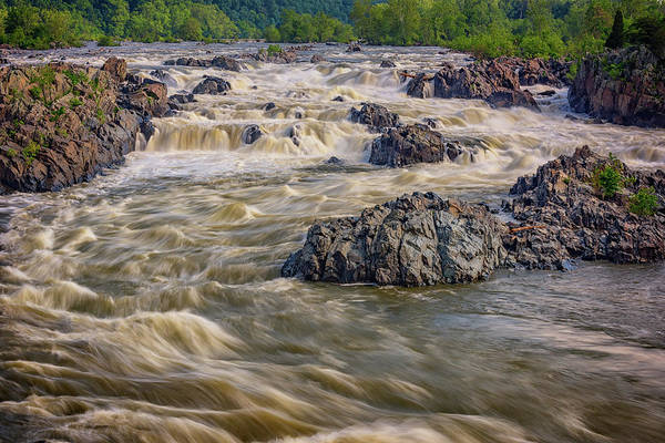 Whitewater Falls Photograph - The Potomac River by Rick Berk