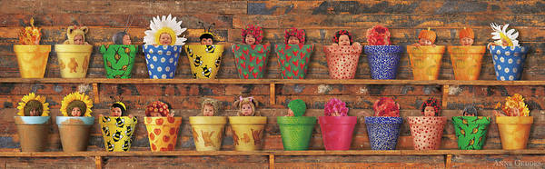 Baby Photograph - The Potting Shed by Anne Geddes
