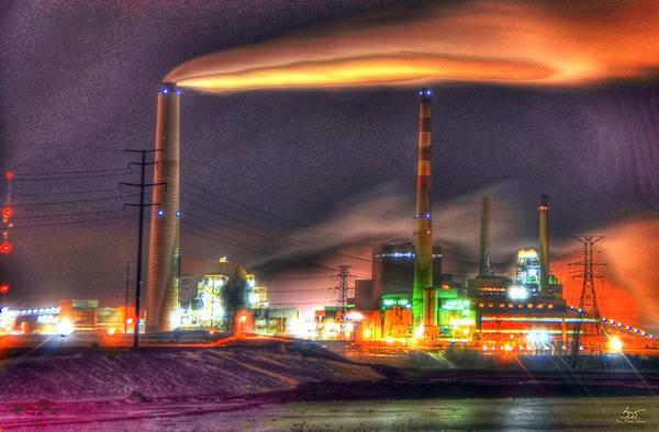 Photograph - The Power Factory by Sam Davis Johnson