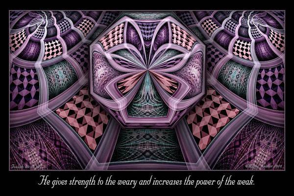 Digital Art - The Power by Missy Gainer