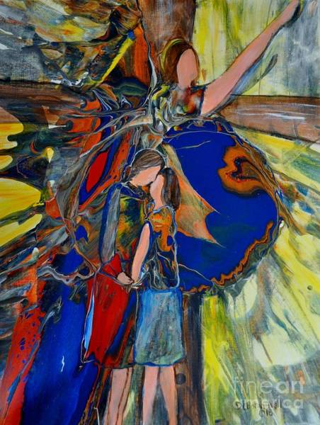 Painting - The Power Of Forgiveness by Deborah Nell