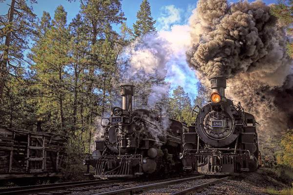 Wall Art - Photograph - The Power Of Steam And Coal by Donna Kennedy