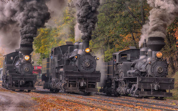 Cass Wall Art - Photograph - The Power Of Steam  by Mike Yeatts