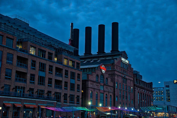 Photograph - The Power Plant And Pixel Promenade by Mark Dodd