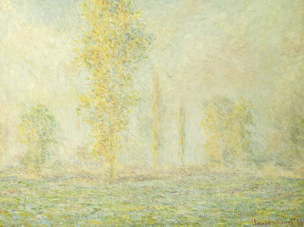 Prairie Painting - The Prairie In Giverny by Claude Monet
