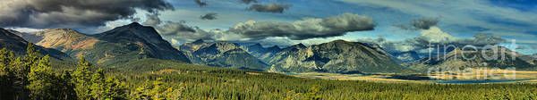 Photograph - The Prairie Meets The Mountains by Adam Jewell