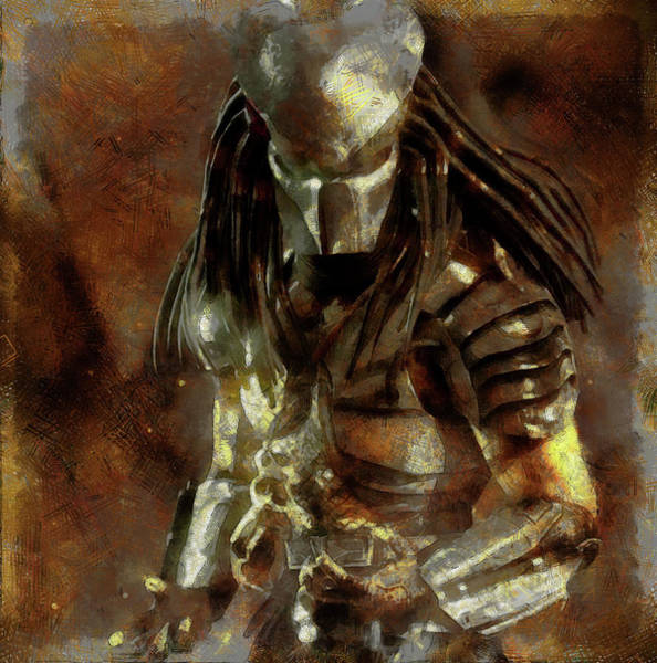 The Predator Scroll Art Print