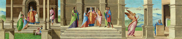 Painting - The Presentation And Marriage Of The Virgin by Benedetto Diana