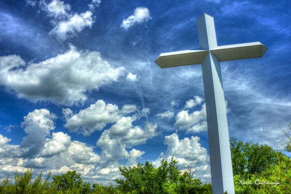 Lamb Of God Wall Art - Photograph - The Priceless Cross Gods Gift Art by Reid Callaway