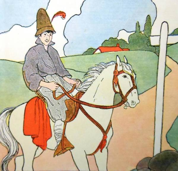 Mother Goose Drawing - The Prince by Lord Frederick Lyle Morris - Disabled Veteran