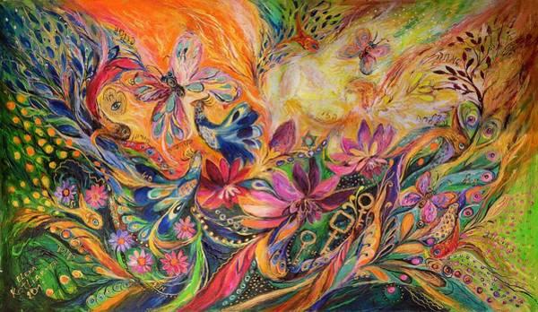 Chupah Wall Art - Painting - The Prince Of Dawn by Elena Kotliarker