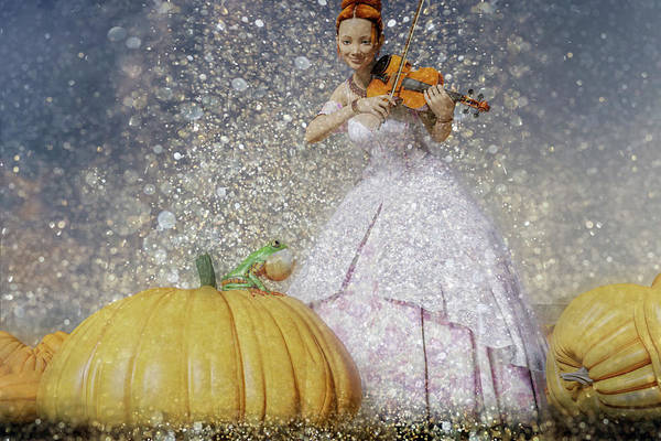 Wall Art - Digital Art - The Princess And The Frog by Betsy Knapp