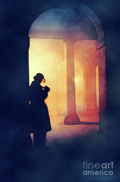 Private Painting - The Private Detective by John Springfield