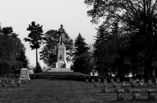 Battleground Photograph - The Private Soldier Monument - Antietam by Mountain Dreams