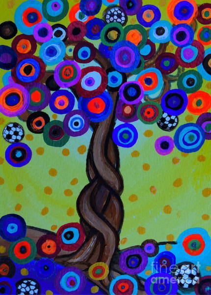 Painting - The Prolific Tree by Pristine Cartera Turkus