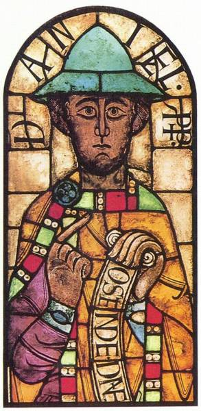 Glass Art - The Prophet Daniel by Suddeutscher Glasmale