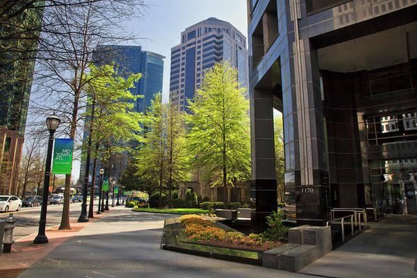 Photograph - The Proscenium In Midtown Atlanta by Jill Lang