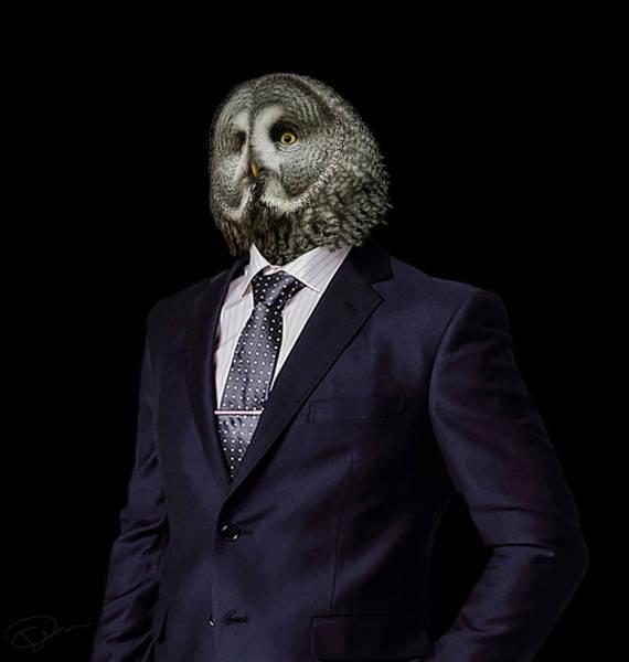 Grey Photograph - The Prosecutor by Paul Neville