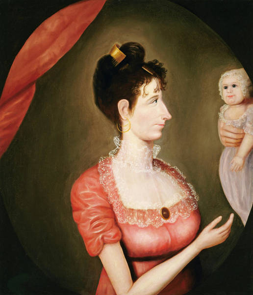 Painting - The Proud Mother by American 19th Century