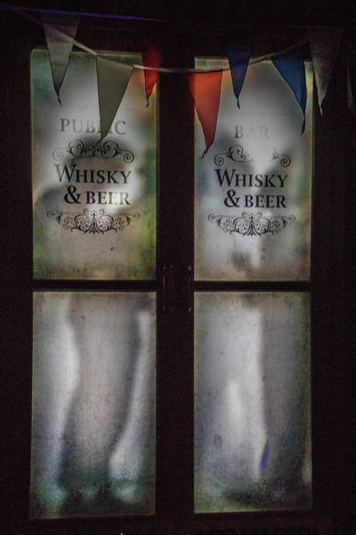 Photograph - The Pub Window by Teresa Wilson