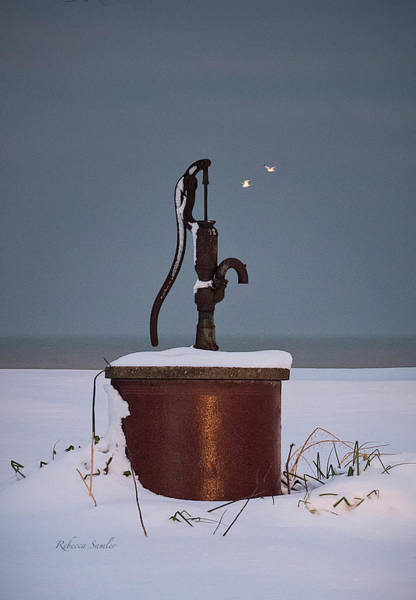 Photograph - The Pump by Rebecca Samler