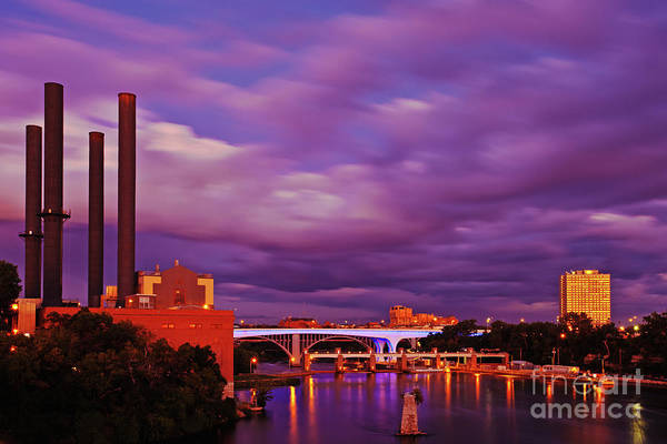 Photograph - The Purple People Eaters Of Minneapolis, Minnesota by Sam Antonio Photography