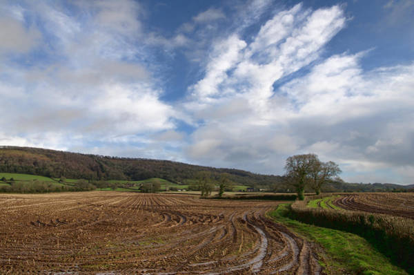Photograph - The Quantocks In Somerset by Pete Hemington