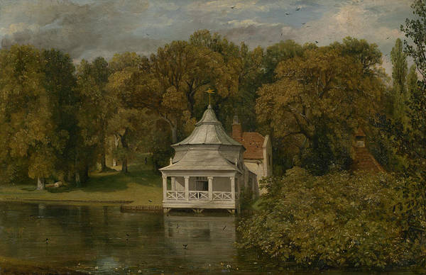 Painting - The Quarters Behind Alresford Hall by John Constable
